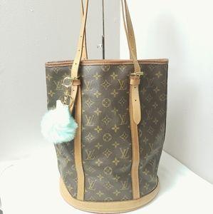 Authentic Louis Vuitton bucket bag MM
